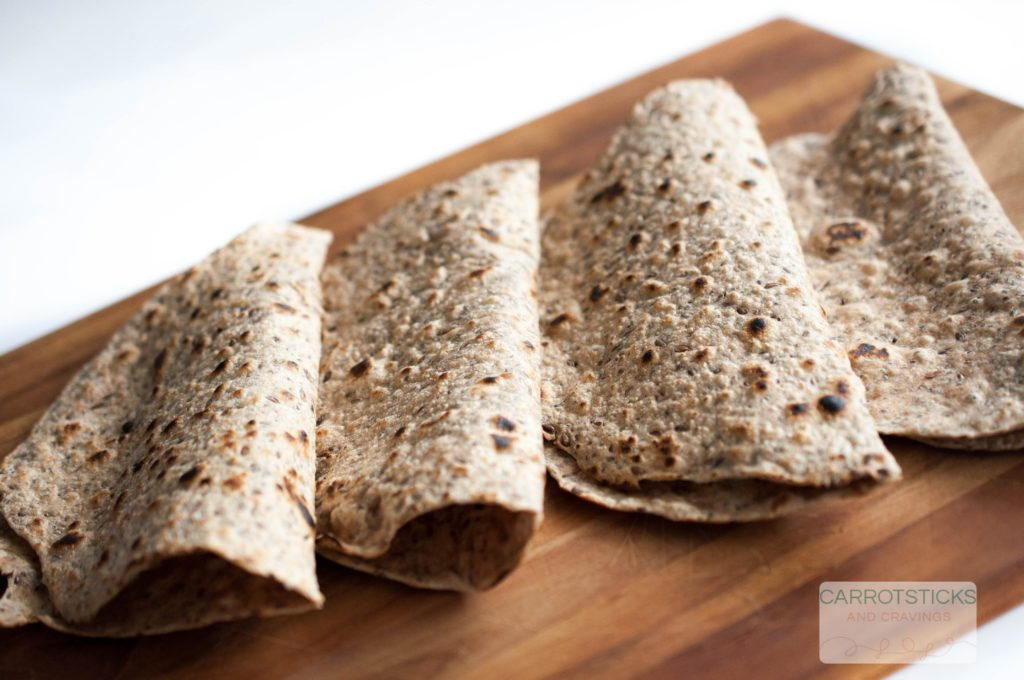 Chia and Flax seed tortillas (1 of 1)