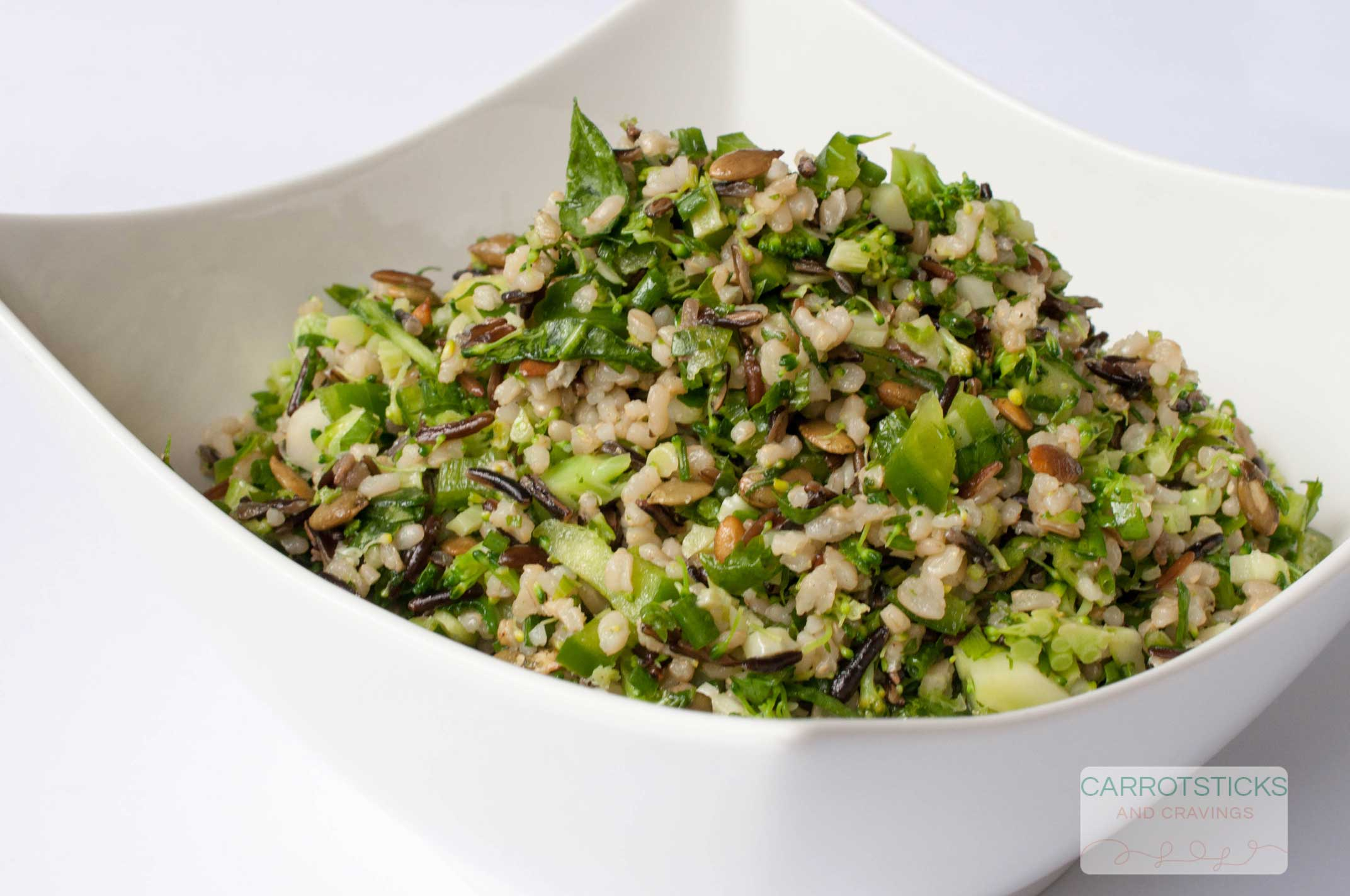 Green Rice Salad