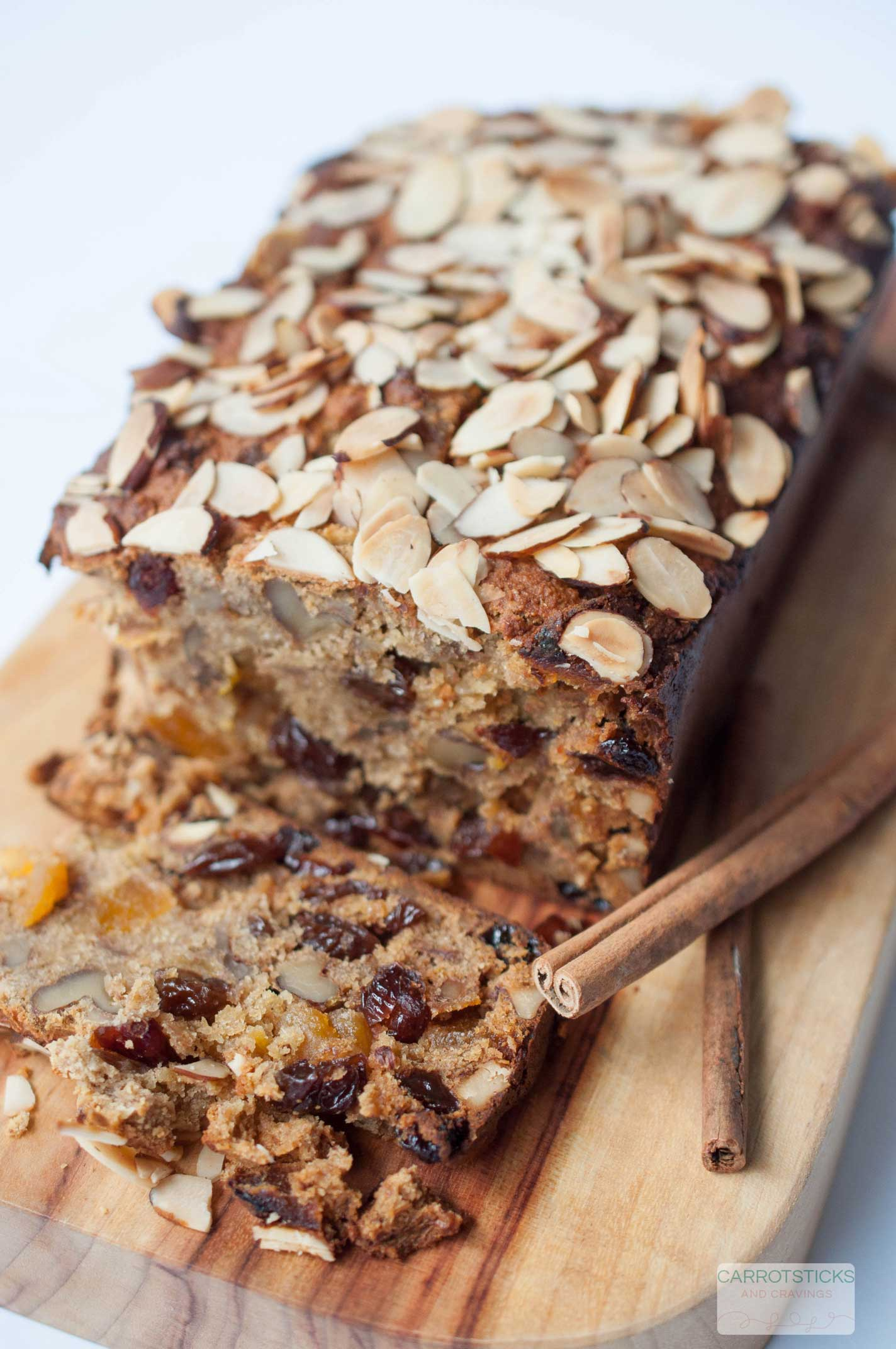 Sugar Free Fruit and Nut Loaf