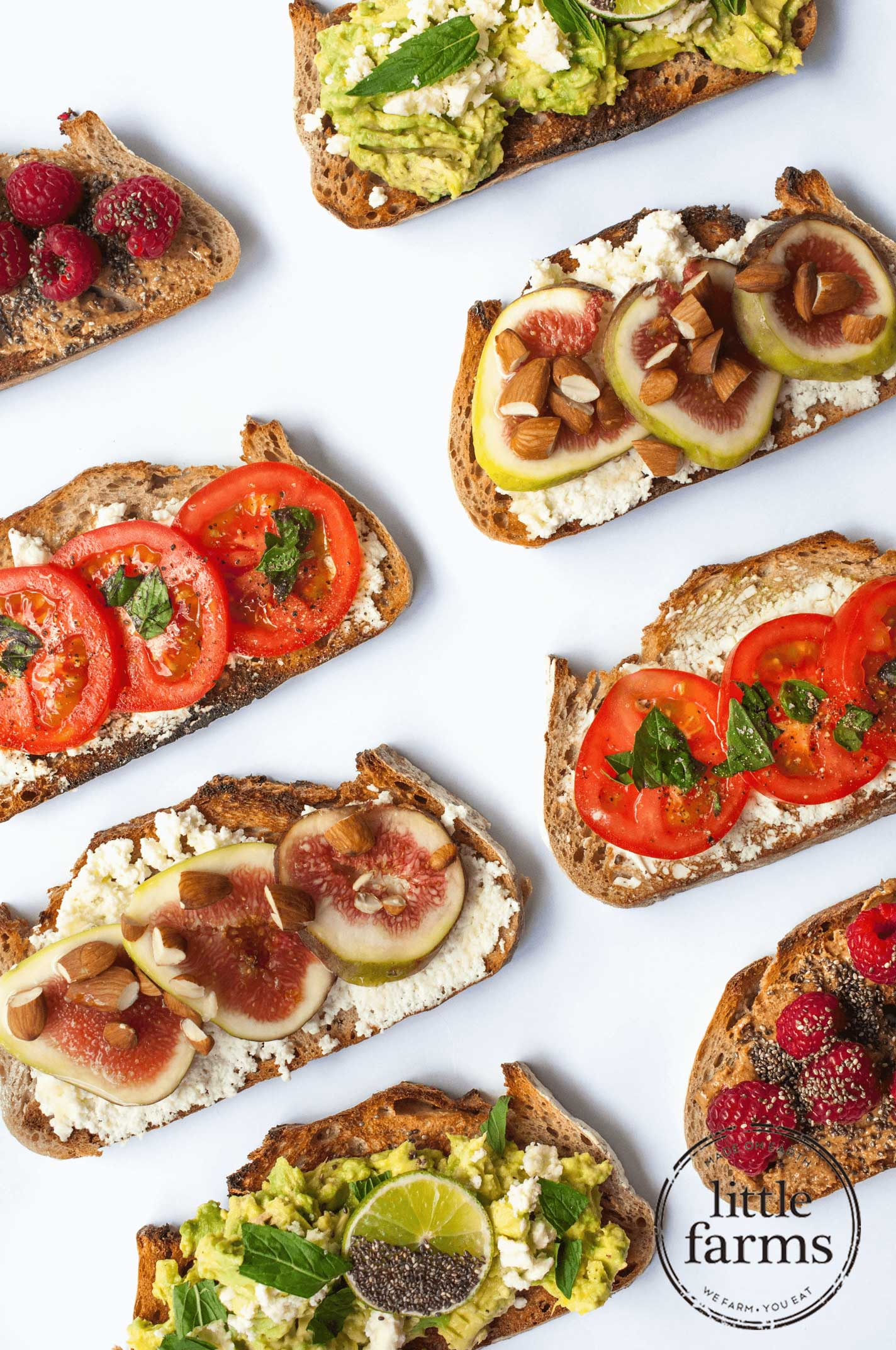4 Kinds of Toast Toppers